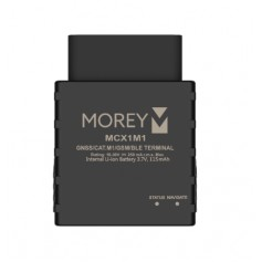 Morey MCX-1M1 GPS Tracker Vehicle OBD-II Port